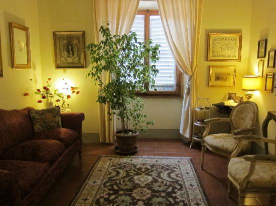 Relais Cavalcanti: Living room