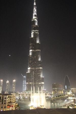 The Address Downtown Dubai: Fireworks in front of the Burj Khalifa
