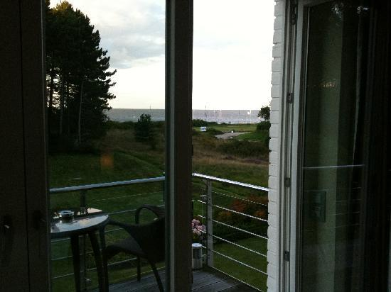 Faehrhaus Sylt: view from the balcony