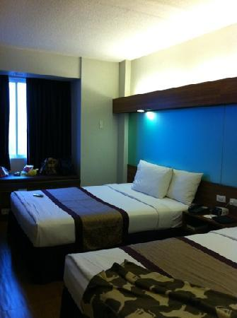 Microtel Inn & Suites by Wyndham Baguio : double room