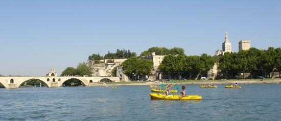 Canoë Vaucluse : balade sur le Rhône