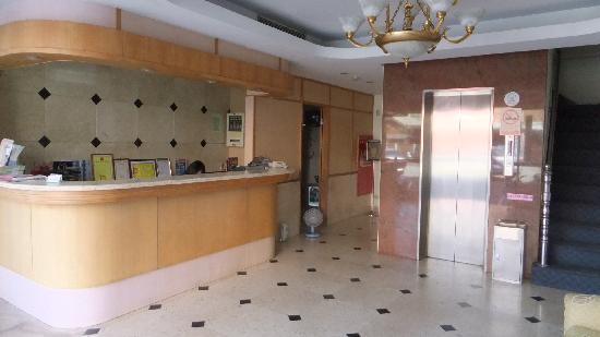 Da Shih Hotel : ホテルフロント