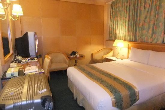 Da Shih Hotel : ホテル室内