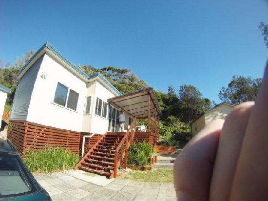North Coast Holiday Parks Seal Rocks : my cabin