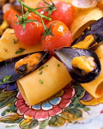 Ristorante Ruccio: Paccheri ai frutti di mare