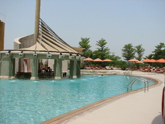 Raffles Dubai : The pool is amazing