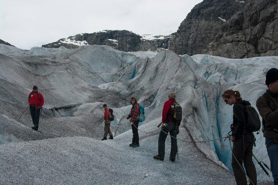 Nigardsbreen Glacier: Hiking on the glacier