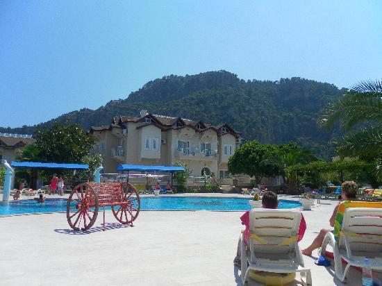 Hotel Keskin Dalyan: Main Pool