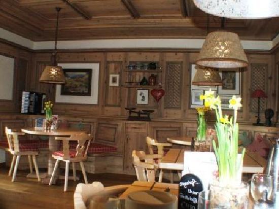 Berghotel Mummelsee : The restaurant