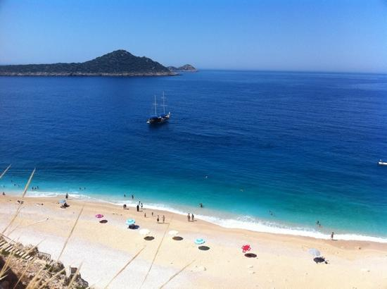 Kaputas Beach : stop for a dip on the way to Kalkan