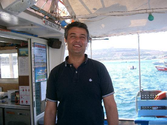 Mellieha, Malta: Sando, the skipper