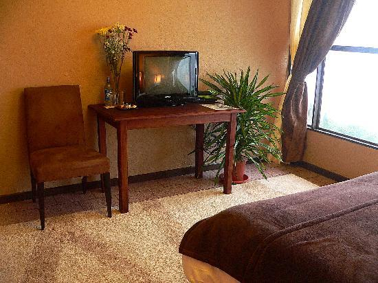 Poas Lodge and Restaurant: Satellite TV available