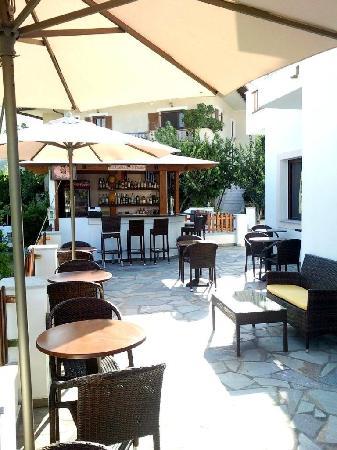 Hotel Golden Sun: the bar