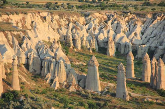 Cappadocia, Turkiet: Chimeneas de las hadas