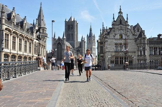 Jog Tours: JogTours Gent joggin