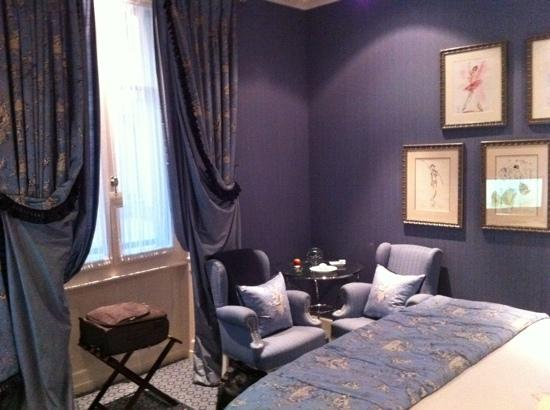 Hotel d'Angleterre: nicely decorated room