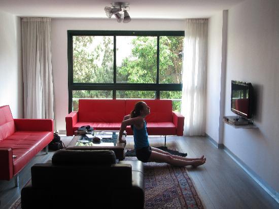 The Diaghilev, LIVE ART Suites Hotel : Living Room