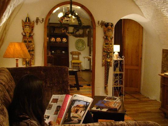 Las Moradas del Unicornio: The room
