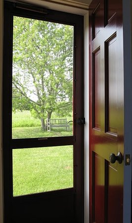The Broad Meadow Bed & Breakfast: The Back Door to the Meadow