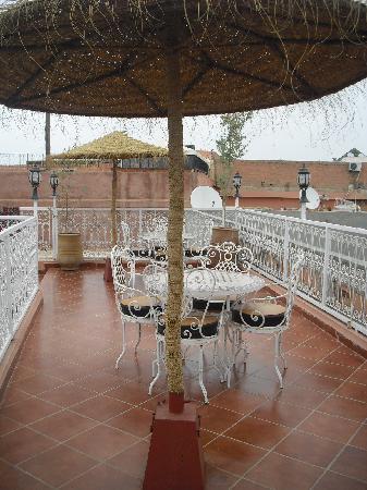 Hotel Atlas: Terrasse