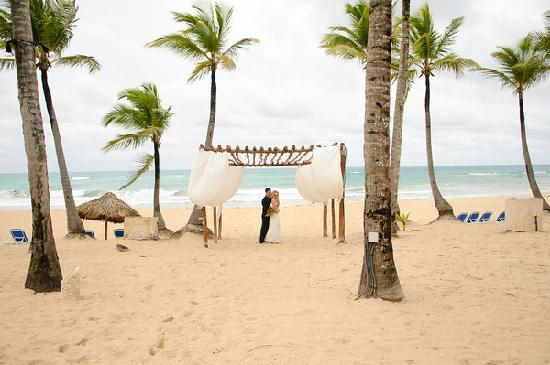 Excellence Punta Cana Beach Canopy You Can Get Married Under