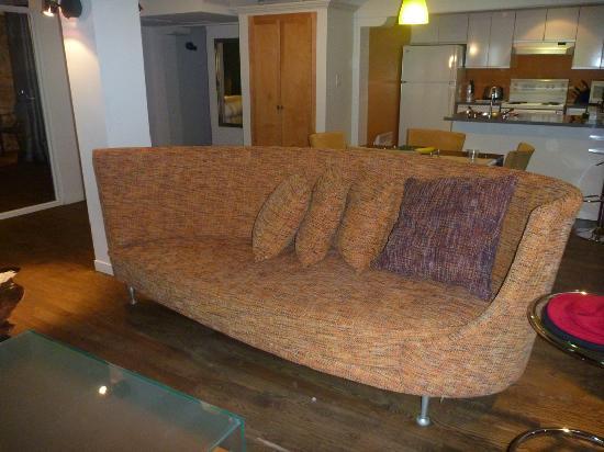 Hotel Le Priori: NewTone Suite's living room