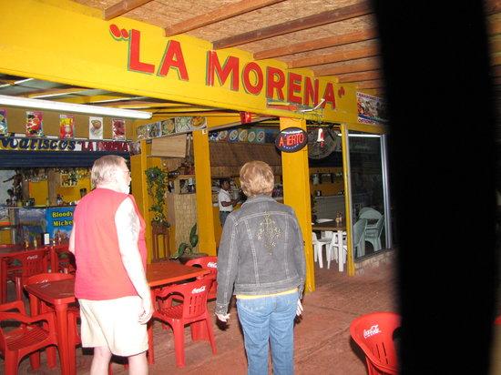 Mariscos La Morena : Heading into Dining room at La Morena