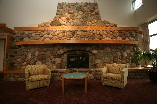 Prince Conference Center at Calvin College : One of our many Fireplaces