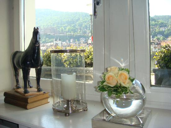 Heidelberg Suites : View from breakfast