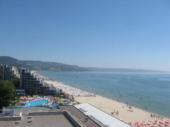 Albena, Bulgarien: sea view
