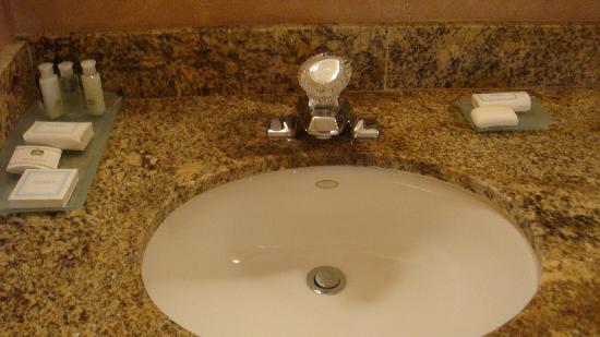 Mountain View Inn: Clean sink & other amenities