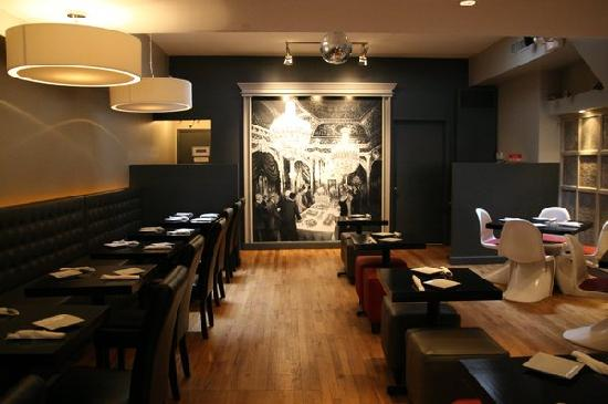 Mary O's: Modern and Chic seating areas