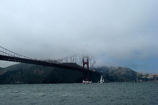 San Francisco, Kaliforniya: The Golden Gate Bridge