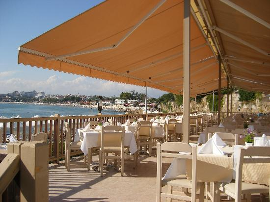 Can Garden Beach Hotel: restaurant terrae