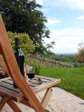 Agriturismo Sommavalle: Great place for glass of local wine