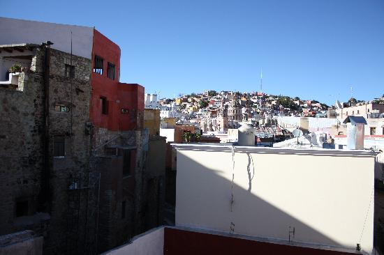 La Casa del Tio: view from rooftop terrace