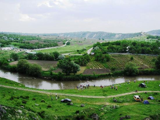 Moldavie : Trebujeni Village