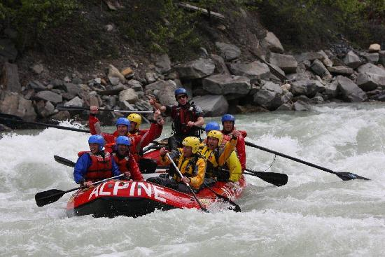 Alpine Rafting : Can we do that again?