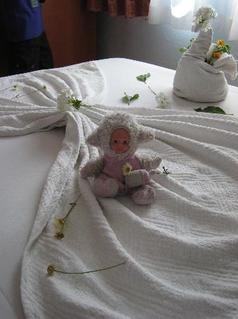 Melissa Garden Apart Otel: Hilsen fra vaskehjelpen :)