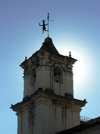 Church steeple in Salta