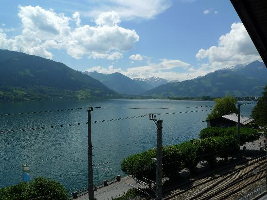 Hotel Seehof: View from our balcony