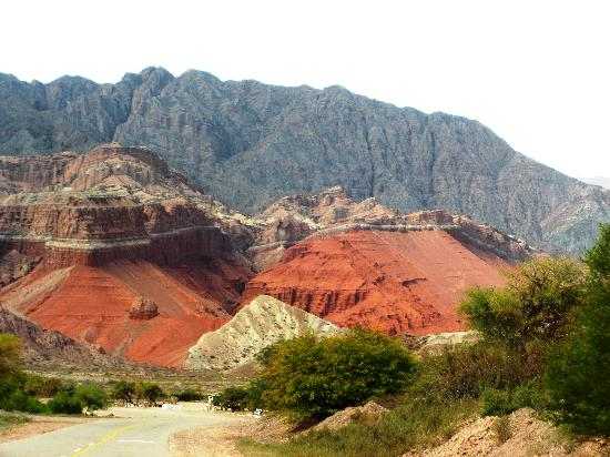 Red rocks near Cafayate