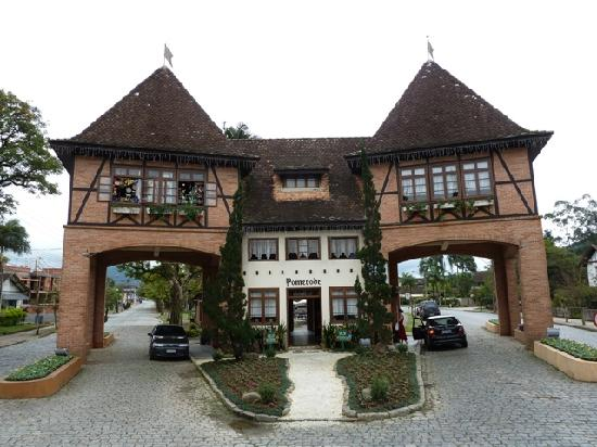 Pomerode, SC: Stadttor