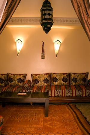Riad Tizgui: Riad Tizgui Marrakech - Salon