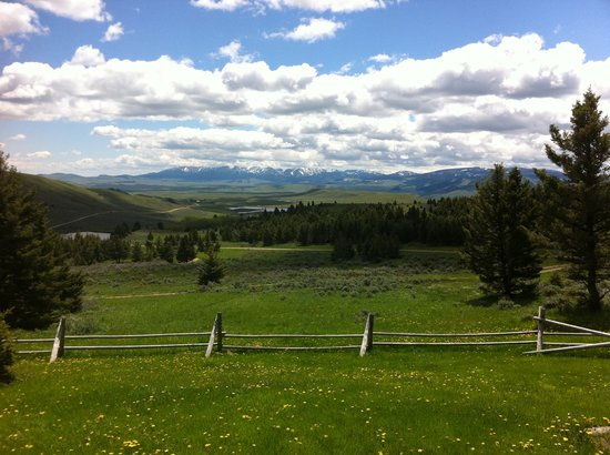 Bonanza Creek Guest Ranch: View from the lodge
