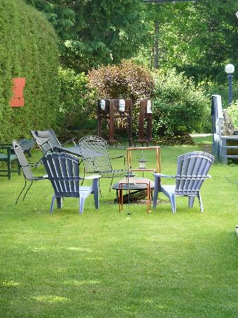 B&B Vert Le Mont: Relax in the garden