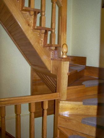 Grybas House Hotel: the steep stairs