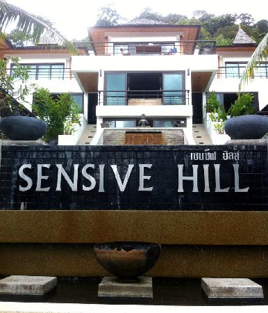 Sensive Hill Hotel & Restaurant: Just walk up the stairs to the main office (top of stairs)
