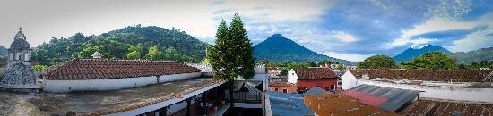 Placido Comfort Hotel: Vista Panoramica desde nuestra terraza