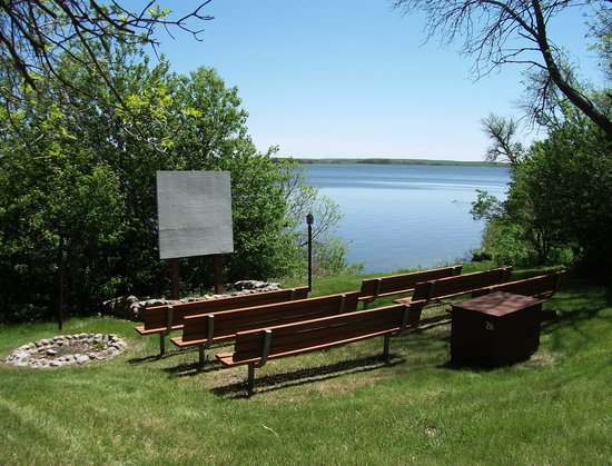 Wishek, Dakota del Nord: The natural amphitheater for the Interpreter programs